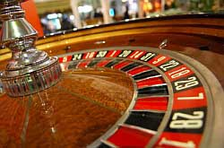 Cruise Ship Casino Roulette Photo
